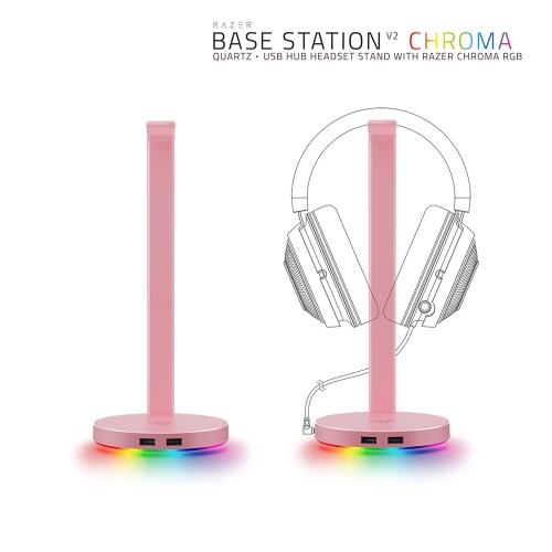 Razer Base Station Chroma V2 Quartz